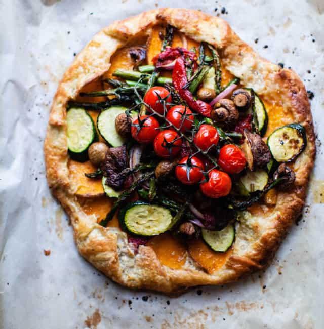 Roasted Vegetable Galette