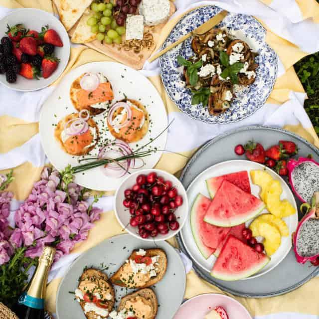 picnic Boursin